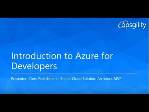 Introduction to Azure for Developers