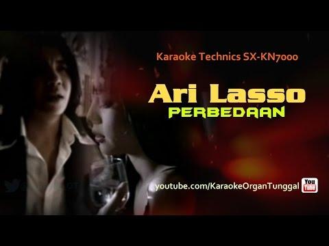 Ari Lasso - Perbedaan | Karaoke Technics SX KN7000