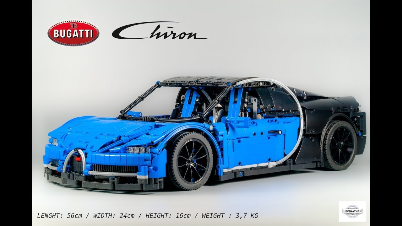 lego bugatti chiron 1 8 youtube. Black Bedroom Furniture Sets. Home Design Ideas