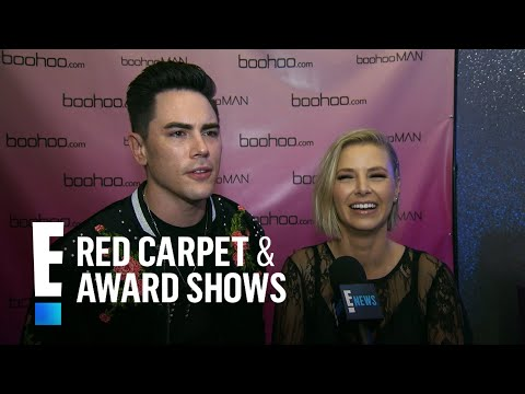 Tom Sandoval & Ariana Madix Dish on Their Relationship  E! Live from the Red Carpet