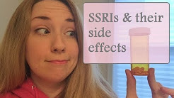 SSRIs & their side effects
