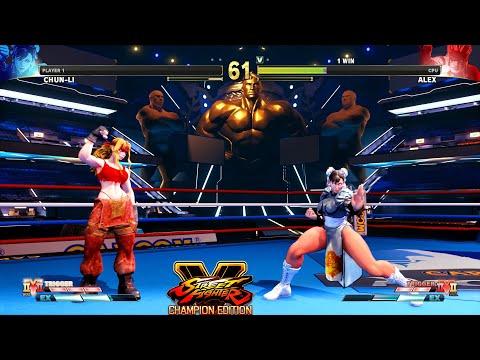 Street Fighter V CE Chun Li vs Female Alex PC Mod |