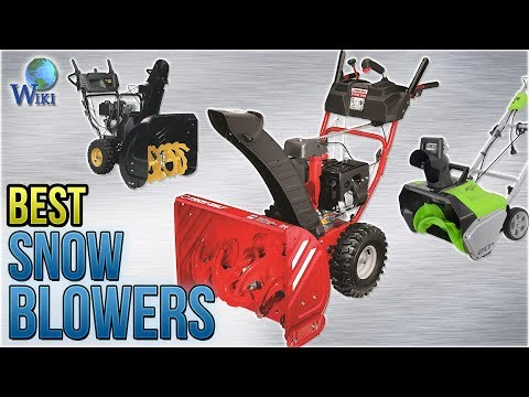 10 Best Snow Blowers 2018
