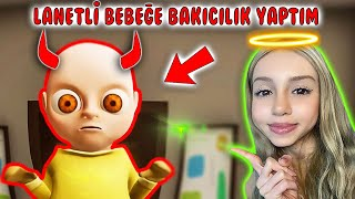👶🏼 LANETLİ BEBEĞE BAKICILIK YAPTIM ! 🥴| THE BABY IN YELLOW 😈