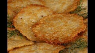 Драники картофельные - супервкусно, быстро и сытно! Секреты приготовления!