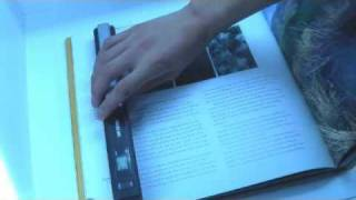 How To Scan Your Docs With Handy portable scanner---For documents and photograph--Fast and easy!
