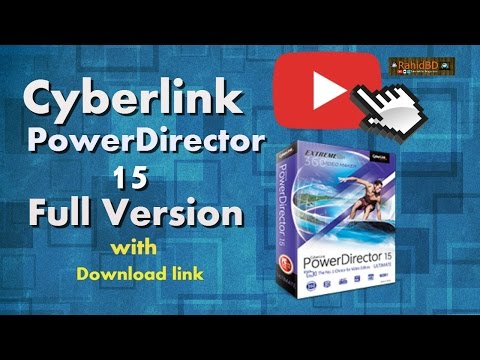 powerdirector 15 full crack