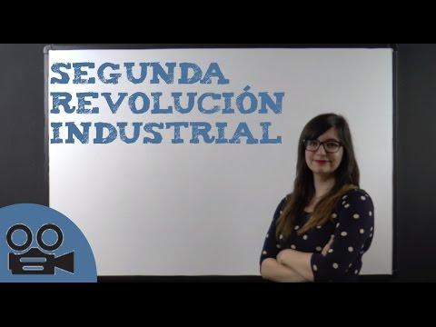 Desarrollo De La Segunda Revolución Industrial Youtube