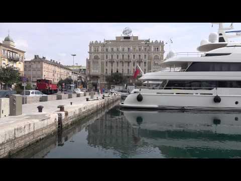 (4k) Rijeka, Croatia in UHD (Sony FDR-AX100)