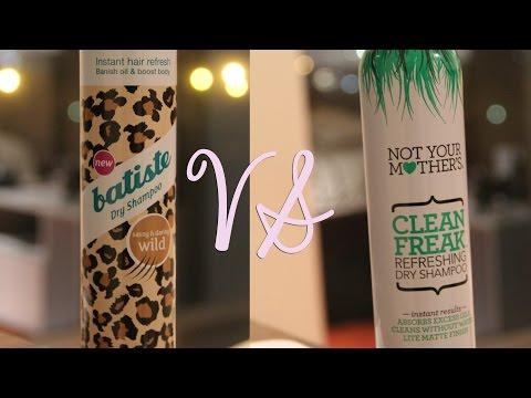 Shampoos en Seco: Batiste VS Not Your Mothers