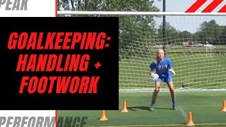 Goalkeeper Training: Handling + Footwork