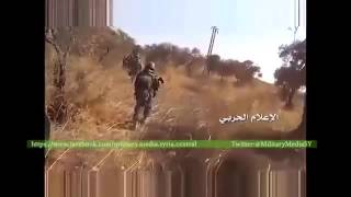Сирия 2015,Подразделения Хезболлы совместно с КСИР ведут наступление на окраинах Алеппо