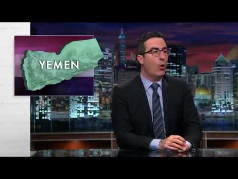 John Oliver - Yemen Diplomacy