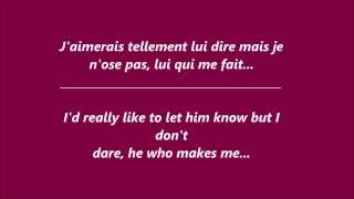 Indila - Tourner dans le vide (French lyrics + English translation)