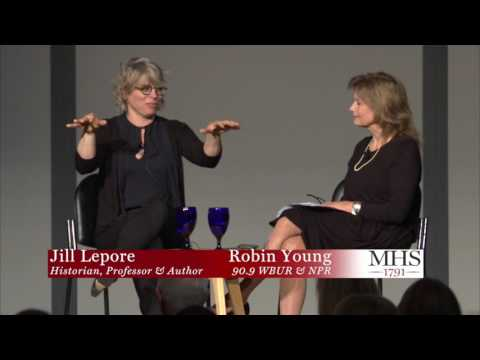 Cocktails with Clio 2017: Jill Lepore in Conversation with Robin  Young