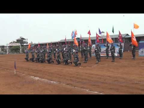 UNMIL Nepal Madel parade Ceremony 2016 part 1
