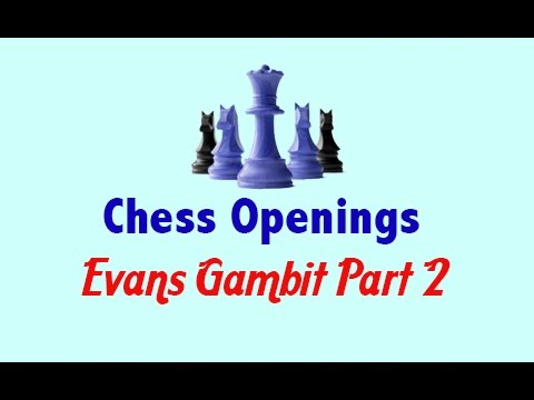 Chess Openings  Evans Gambit Part 2   Chess WebsiteChess