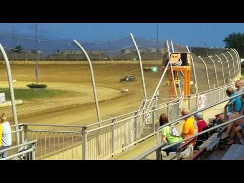 Lawrenceburg speedway hornet heat 9-3-16
