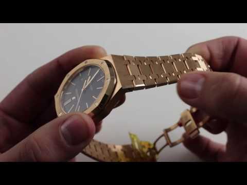 Pre-Owned Audemars Piguet Royal Oak Self-Winding Luxury Watch Review
