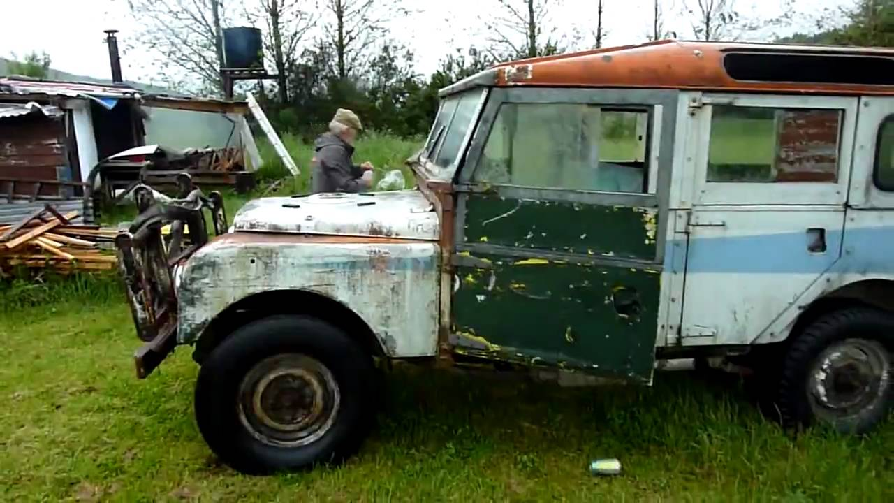 The Old Man and his Landrover - YouTube