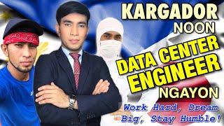 "KARGADOR Noon, DATA CENTER ENGINEER Ngayon -  ""Work Hard, Dream Big, Stay Humble"" Pak Pak Japan"