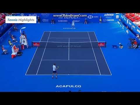 Alexander Zverev Vs Ryan Harrison Atp 500 Acapulco QF  (HD Highlights)