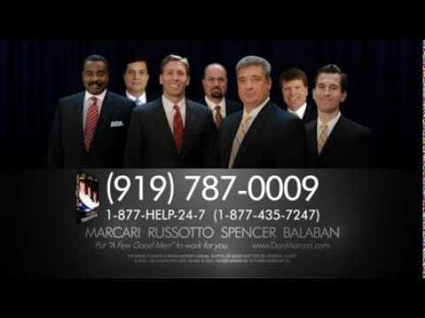 Auto Accident Attorney Don Marcari Commercial