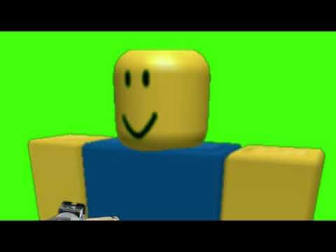 ROBLOX Noob Jumpscare Greenscreen