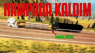 YOKUŞTA KALDIM!!!   Euro Truck Simulator 2 Multiplayer