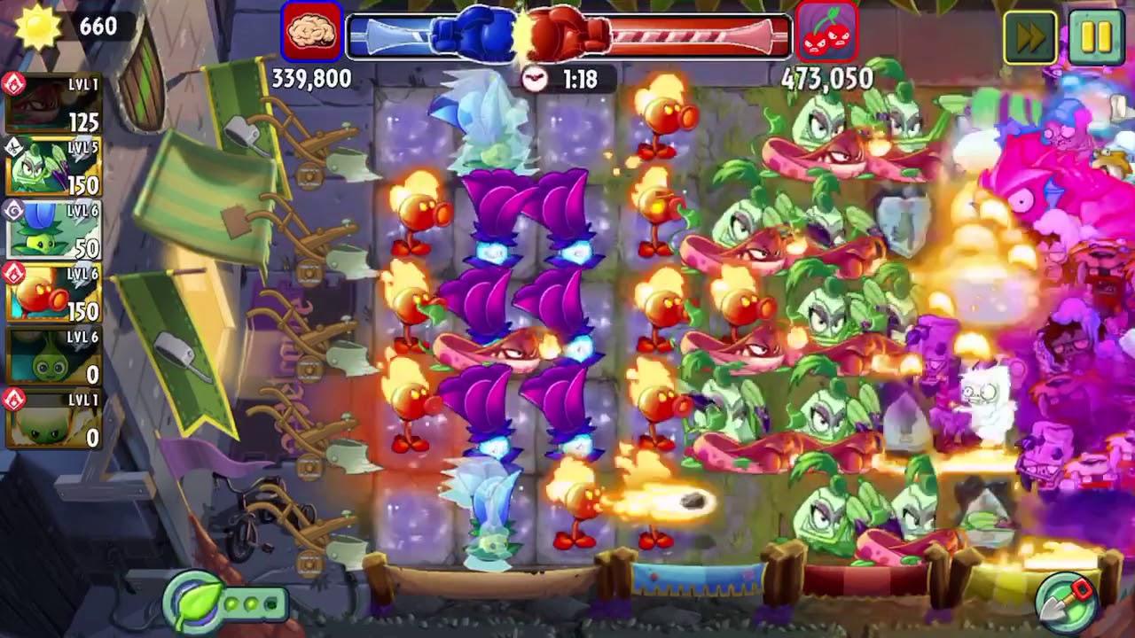 Plants vs zombies 2 - Arena Battle - Pyre Vine 18/10/2019 | Pyre Vine's Searing Season 🔥