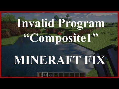 "SEUS Minecraft FIX | [Shaders] Error Invalid Program ""Composite1"""