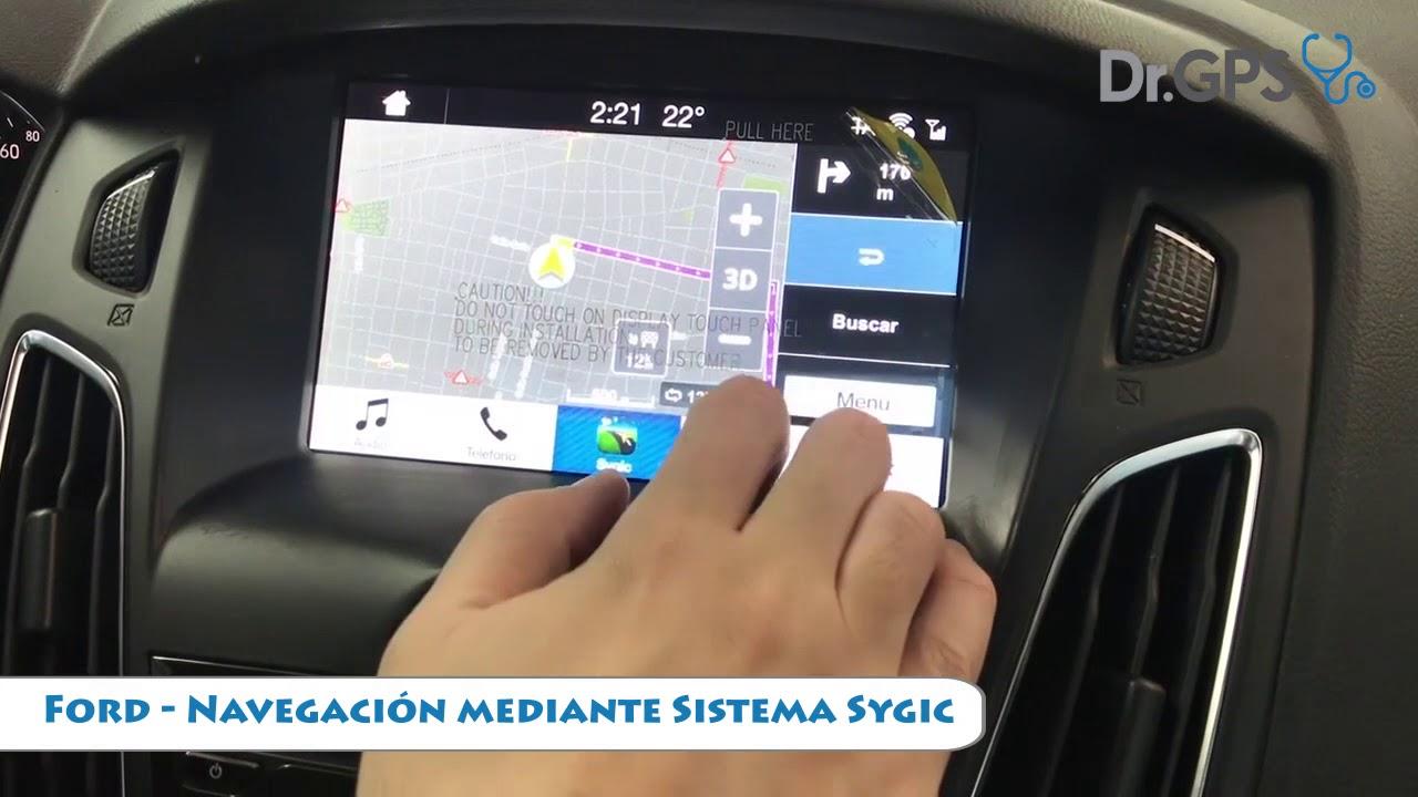 Ford Sync 3 - Sygic y Waze para iOS Iphone y Android