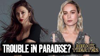 Is it true that AVENGERS cast doesn't like Brie Larson?