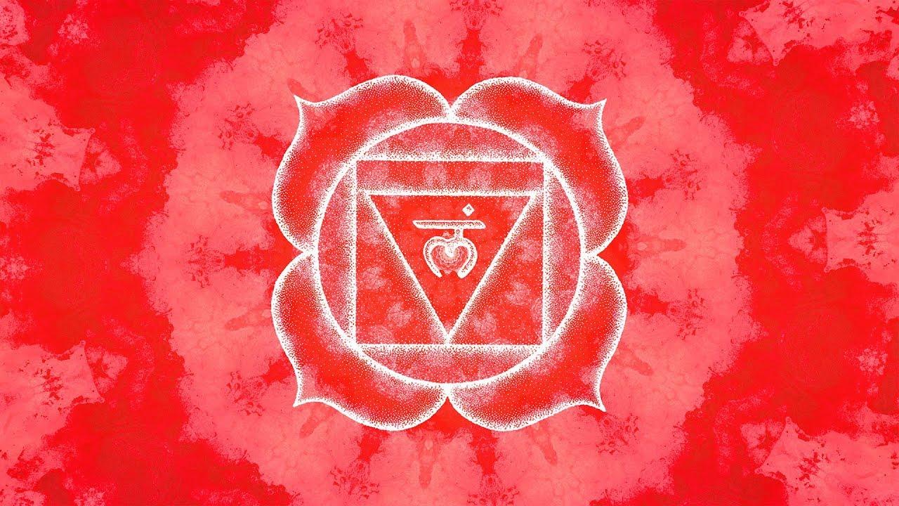 Root Chakra Sleep Meditation   Balancing & Healing Music   Let Go of Fear,  Anxiety, Worries