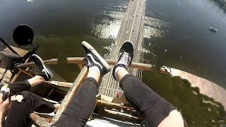 Расшатали Московский мост.Побег от полиции по вантам.Высота 120-метров.РуфЗалазsekaforostenko