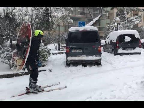 Снежная мечта Карлсона