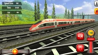 Euro Train Driving Games 1 - Train Games Simulator - Bambi Tv - Android Gameplay