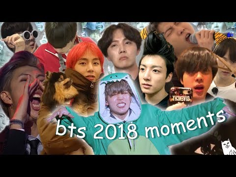 Ultimate Bts moments of 2018 Pt.1