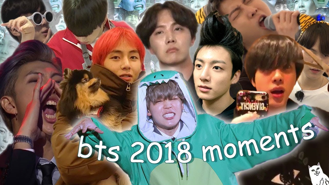 Ultimate Bts moments of 2018 Pt 1