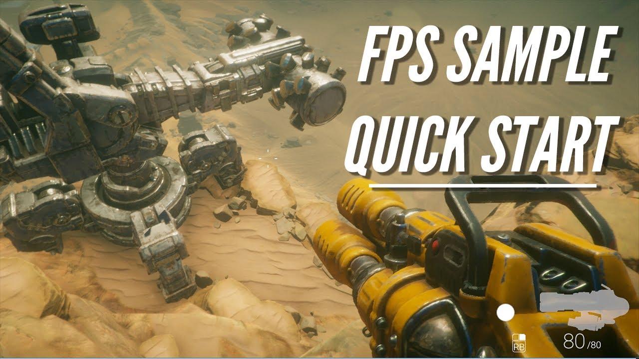 FPS Sample Quick Start Guide | GameAcademy school