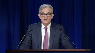 Fed Chair Jerome Powell holds press conference following 2-day policy meeting