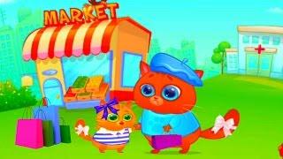 КОТИК БУБУ #52 Мой виртуальный котик МУЛЬТИК ИГРА  для детей #УШАСТИК KIDS