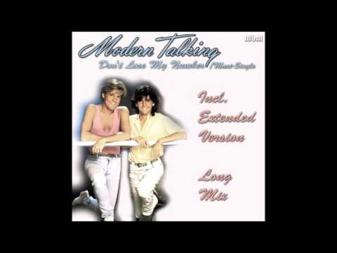 Modern Talking - Don't Lose My Number Maxi-Single (re-cut by Manaev)