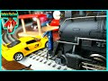 FUN Toy CARS Crash Into Train Accident. Police Car, Fire Truck Rescue Video.