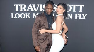 Kylie Jenner And Travis Scott Are ALL OVER EACH OTHER At 'Look Mom I Can Fly' Premiere