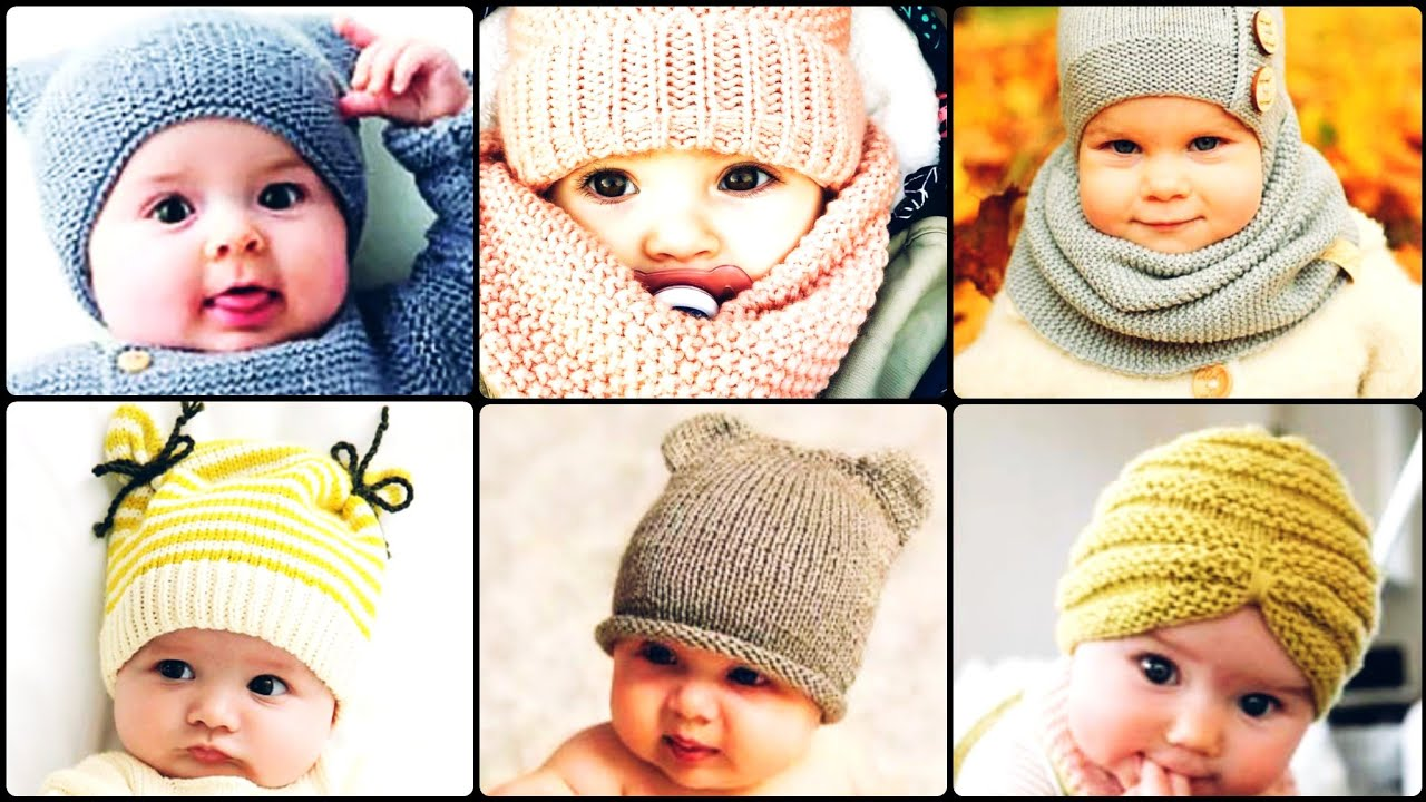 [VIDEO] - Gorgeous and Amazing stylish babies and Baba cap design for winter 1