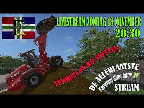 Farming Simulator 2017 De ALLER ALLER ALLER LAATSTE van FS17! Eemhuus en Ko Sjotten! thumbnail