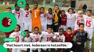 Voetbalclubs zijn één minuut stil vanwege racisme
