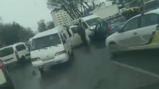 """ДТП у Дубні. Відео зі спільноти """"Typove Dubno"""". 29.01.2020."""