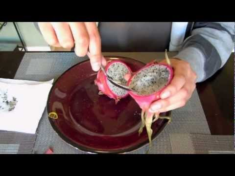 Dragon Fruit Tasting and Seed Planting